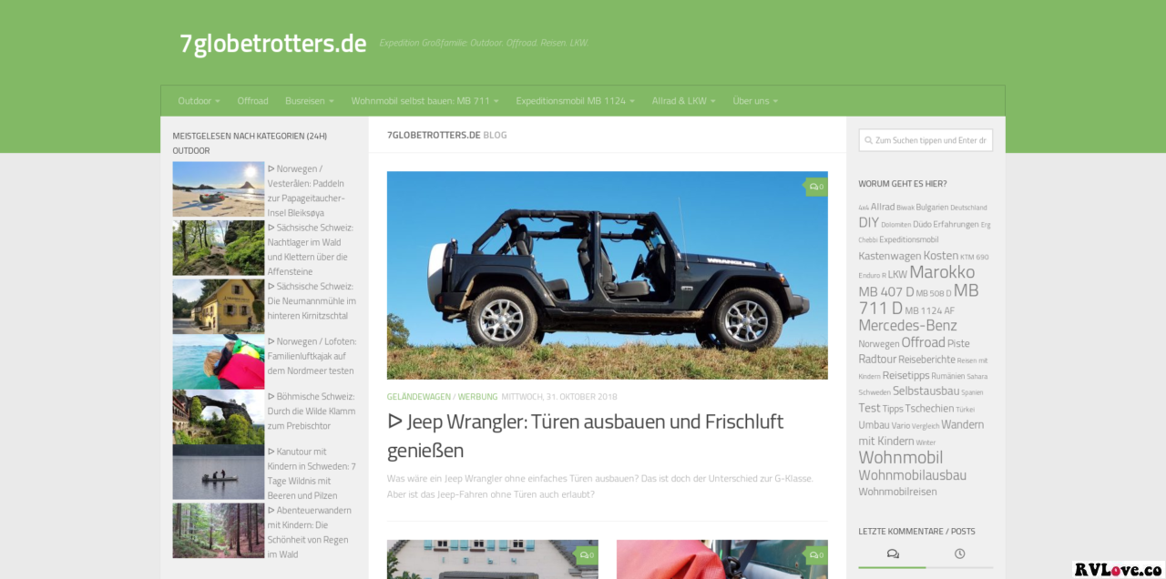 Expedition Großfamilie Offroad